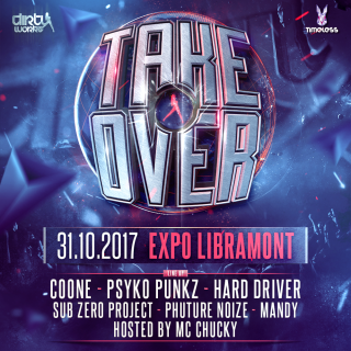 Take Over - 31-10-17 Timeless (Belgium)